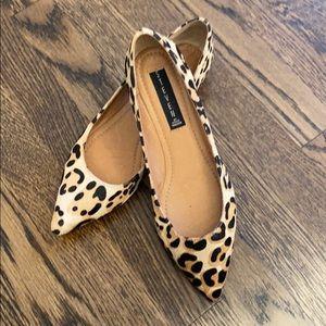 Steve Madden Cheetah Leopard wedges. 8.5 Medium